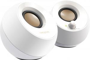 Głośniki Pebble 2.0 USB białe