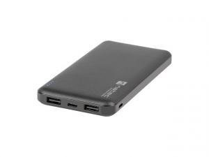 Power Bank Extreme Media Trevi Slim 10000mAh 2x USB + 1x USB-C czarny