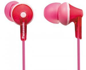 Słuchawki douszne RP-HJE125 różowe