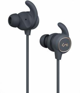EP-B60 Dark Grey słuchawki Bluetooth | wodoodporne IPX6 | automatyczne on/off | BT 5.0+EDR | A2DP | AVRCP | HFP | HSP | AAC | 8h