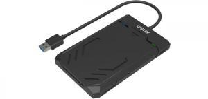Obudowa USB3 HDD/SSD SATA 6G UASP; Y-3036