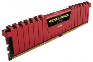 DDR4 Vengeance LPX 16GB/3000(2*8GB) CL15-17-17-35 RED 1,35V XMP 2.0