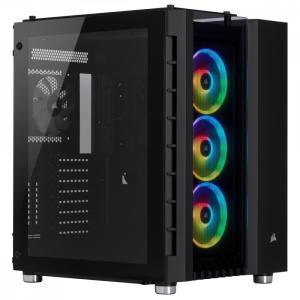 Obudowa Crystal 680X RGB Szkło hartowane Czarny ATX