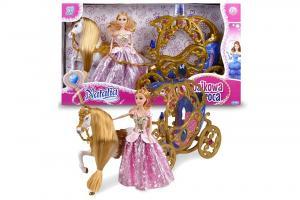 Bajkowa karoca z lalką Natalią