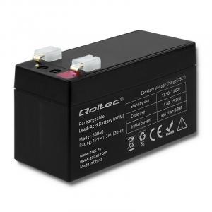 Akumulator AGM | 12V | 1.3Ah | max. 0.39A