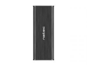 Kieszeń zewnętrzna Sata Rhino M.2 USB 3.0 Aluminium czarna slim