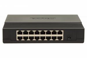 SF1016D switch L2 16x10/100 Desktop