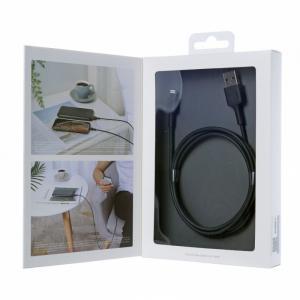 CB-BAL1 Black wzmocniony ultraszybki kabel Quick Charge Lightning-USB | 1.2m | certyfikat MFi Apple