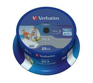 BD-R 6x 25GB 25P CB HTL Printable NO ID 43811