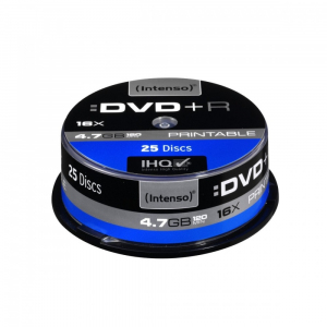 DVD+R 16x 4,7GB Printable (25 Cake)