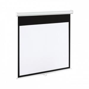 Ekran elektryczny 4:3 120 244x183 cm matowy biały z pilotem