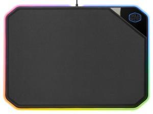 Podkładka pod mysz MasterAccesory MP860 podświetlana czarna 360x260mm