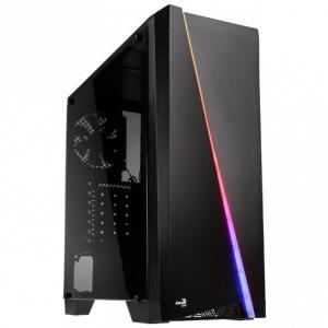 Obudowa komputerowa PGS CYLON RGB ADVANCE BLACK/USB3/ATX