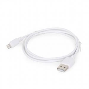 Kabel USB 8-pin 1m/biały