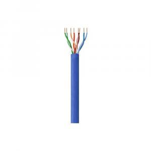 Kabel instalacyjny skrętka UTP Cat6 4x2 drut CCA 305m niebieski