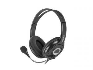 Słuchawki Bear 2 z mikrofonem czarne