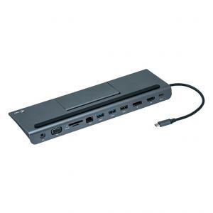 Stacja dokująca USB-C Triple Dock + zasilacz 112W