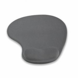 Ergonomiczna podkładka pod mysz, żelowa, grafitowa