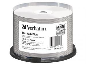 CDR 700MB DL+ AZO Thermal printable medi disc (Cake 50) NO ID