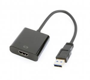 Adapter USB 3.0/HDMI-A 19pin/żeński