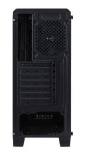 Obudowa CYLON USB 3.0 Czarna GLASS RGB
