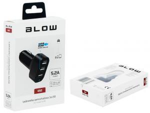 Ładowarka samochodowa USBx3 5,2A