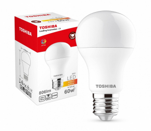 Lampa LED 8,5W 230V 806lm b.ciepły A60