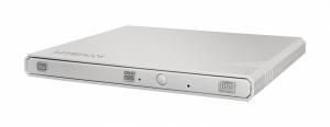 Nagrywarka zewnętrzna eBAU108 Slim DVD USB biała