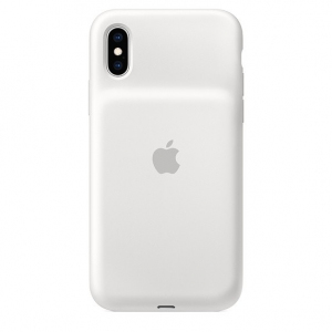 Etui Smart Battery Case do iPhonea XS - białe
