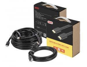 Kabel HDMI M/M 1,5m v2.0, pozłacany, Basic; Y-C137M