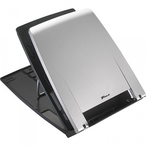 Ergo M-Pro Notebook Stand Silver with Dark Grey