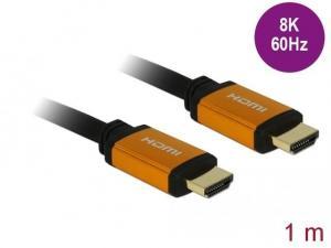 Kabel HDMI M/M v2.1 8K 60Hz czarny 1m