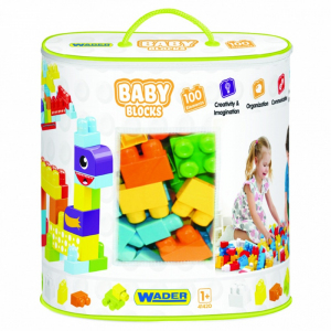 Baby Blocks Klocki torba 100 szt.