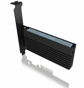 Karta PCIe z gniazdem M.2 M-Key dla jednego dysku SSD M.2 NVMe IB-PCI214M2-HSL
