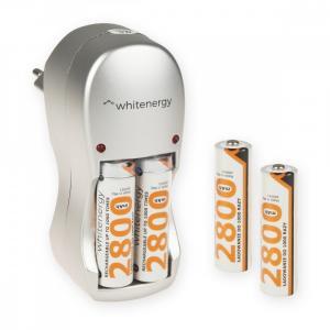 Ładowarka do Akumulatorów|4xAA/AAA|230V|4xAA 2800mAh Ni-Mh