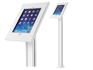 Stojak uchwyt reklamowy do tabletu podłogowy z blokadą, MC-678 iPad 2/3/4/Air/Air2