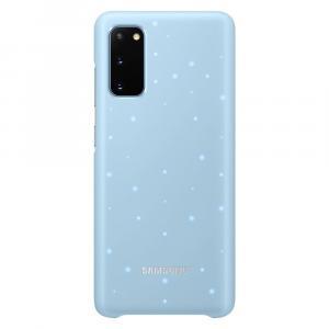 Etui LED Cover Sky Blue do Galaxy S20