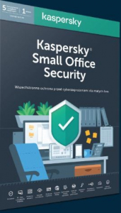 *Kaspersky Small Office Security 5 stacji + 1 Serwer 1 rok
