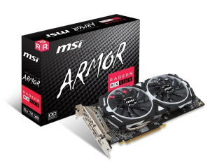 Radeon RX 580 ARMOR OC 8GB 256BIT 2HDMI/DVI-D/2DP