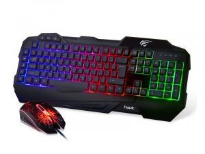 GAMENOTE KB558CM Zestaw gamingowy klawiatura + mysz, LED, Anti Ghosting, 3000 FPS