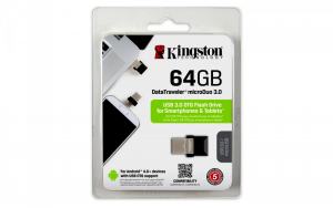 DataTraveler microDUO 64GB USB3/microUSB OTG