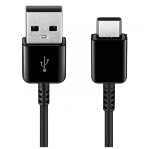 Kabel Typ-C USB 2.0, 1.5m, czarny