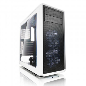 Focus G Window White 3.5 HDD/2.5'SDD uATX/ATX/ITX