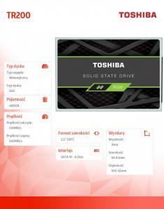 Dysk SSD TR200 480GB SATA3 2.5 555/540 MB/s