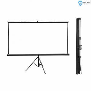 4W Ekran projekcyjny na statywie 221x124 (100
