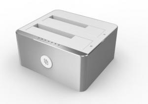 Stacja dokująca HDD;USB TYP-C; CLONE; Y-3027 ALU