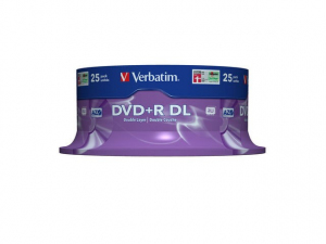 DVD+R 8x 8.5GB 25P CB Double Layer 43757