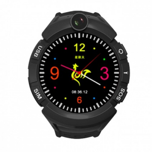 Watch Phone Kids z lokalizatorem GPS/WIFI czarny