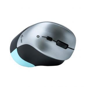 Mysz Ergonomiczna Opytczna BlueTouch 245, 6-przyciskowa, czułość 1000/1600 DPI, przycisk ON/OFF