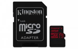 microSD 32GB Canvas React 100/70MB/s adapter U3 UHS-I V30 A1
